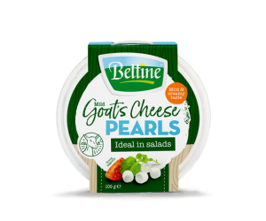 bettine goat's cheese pearls plain 100g